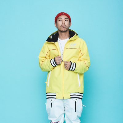 1920 OVYO BAESBALL JACKET YELLOW 오비오 보드복 자켓