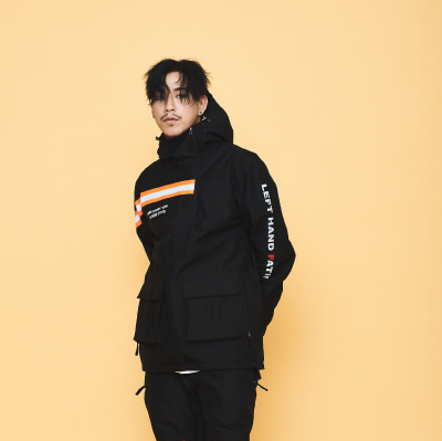 1920 OVYO NEVERMIND JACKET BLACK 오비오 보드복 자켓