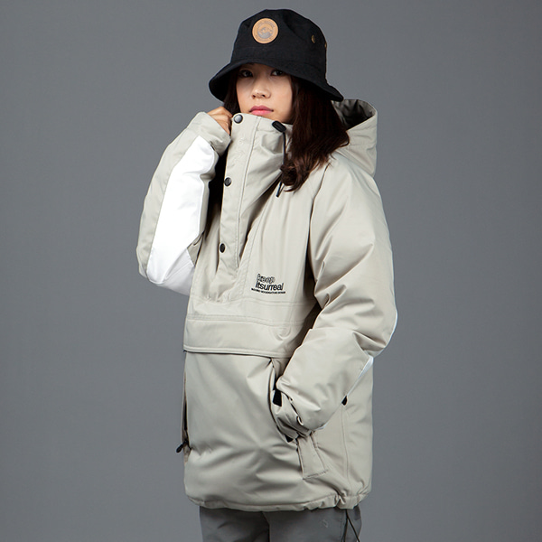 1920 BOUND COZY ANORAK DOWN JACKET SAND 바운드 보드복