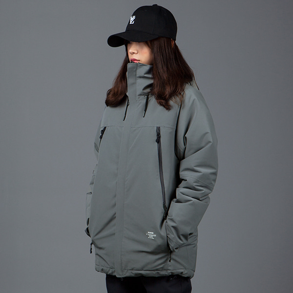 1920 BOUND ELEMENT JACKET GRAY 바운드 보드복