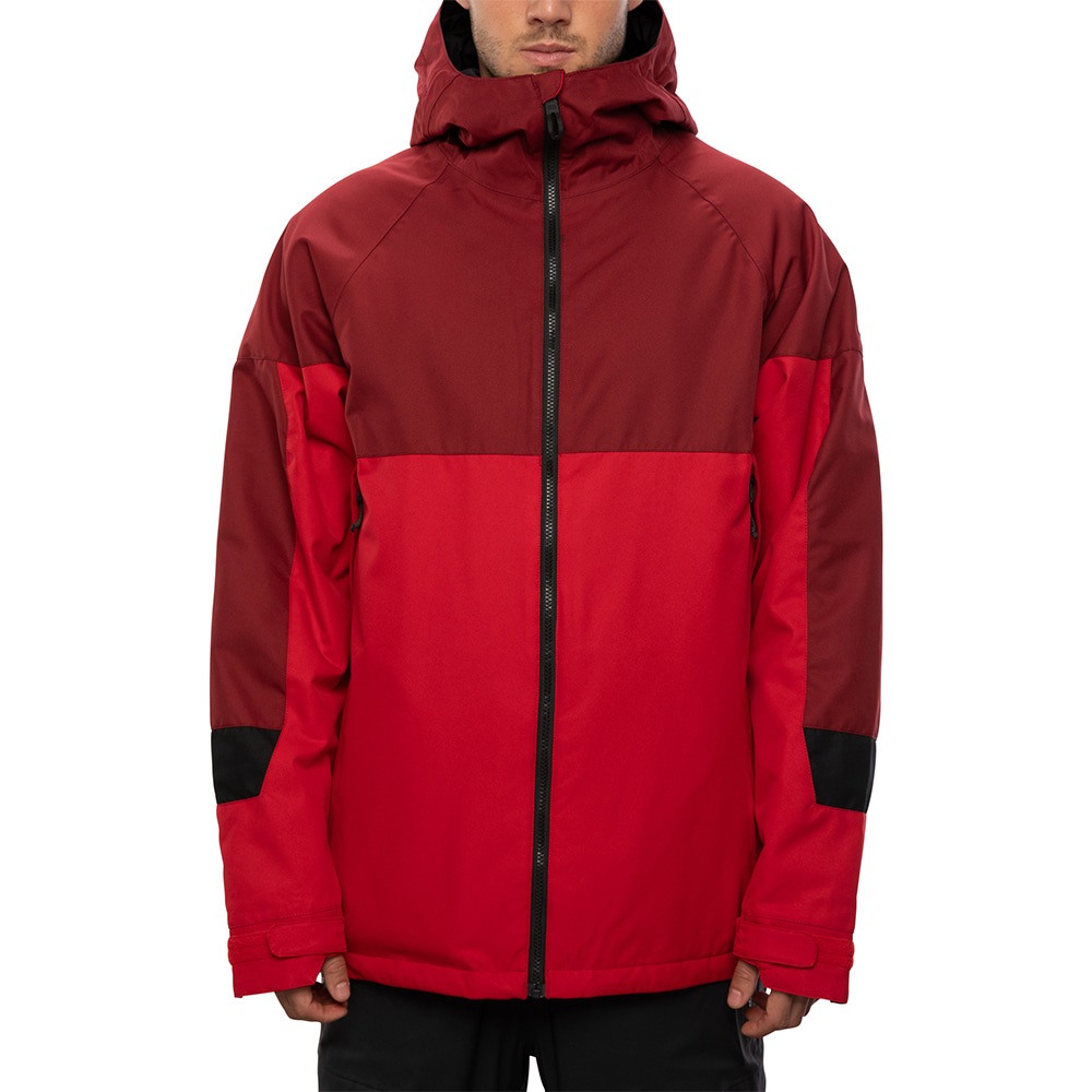 2021 686 Static Insulated Jacket Red Colorblock 자켓