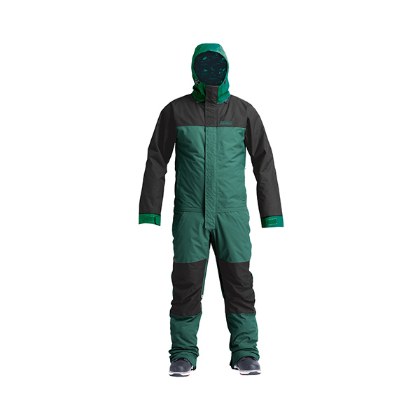 2021 GLACIER Insulated Freedom Suit-Night Spruce 에어블라스터 프리덤수트