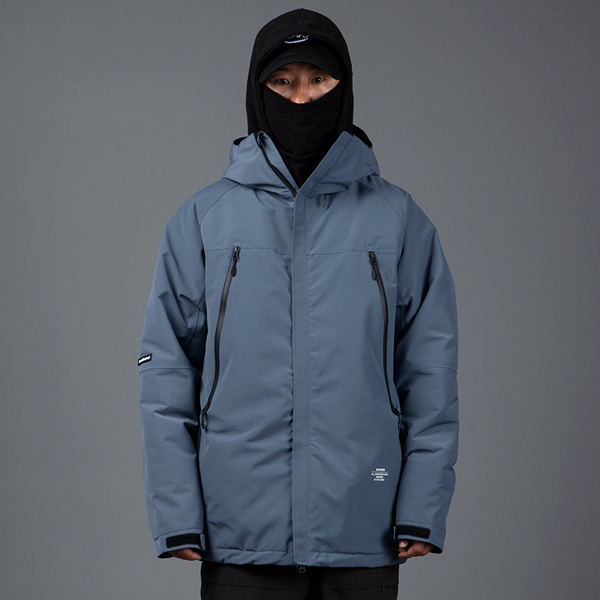 1920 BOUND ELEMENT JACKET STEEL BLUE 바운드 보드복