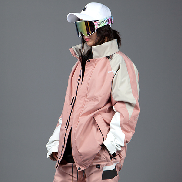 1920 BOUND BLOCK JACKET INDY PINK 바운드 보드복