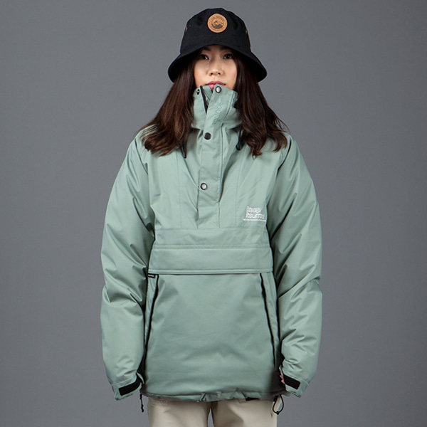 1920 BOUND COZY ANORAK DOWN JACKET ZAM GREEN 바운드 보드복