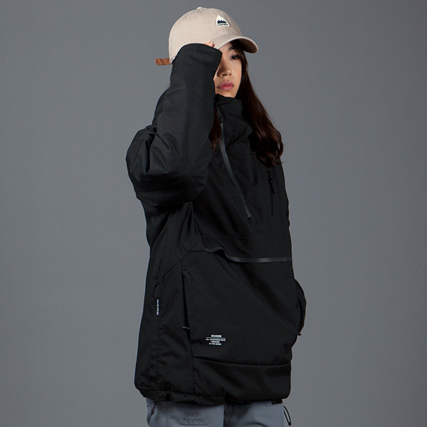 1920 BOUND PURE ANORAK JACKET BLACK 바운드 보드복