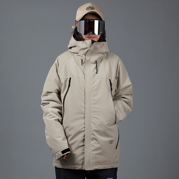 1920 BOUND ELEMENT JACKET BEIGE 바운드 보드복