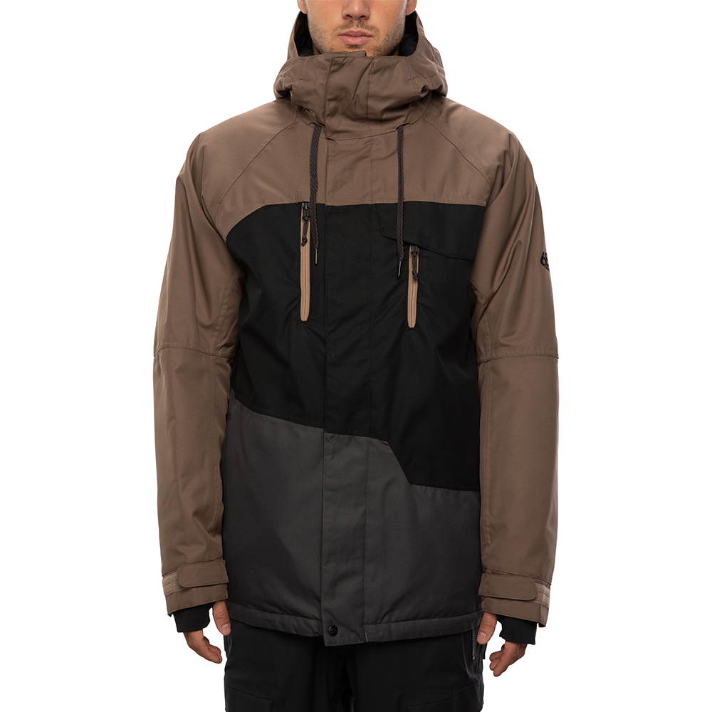 2021 686 Geo Insulated Jacket Tobacco Colorblock 자켓